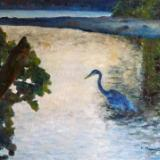 Heron Evening